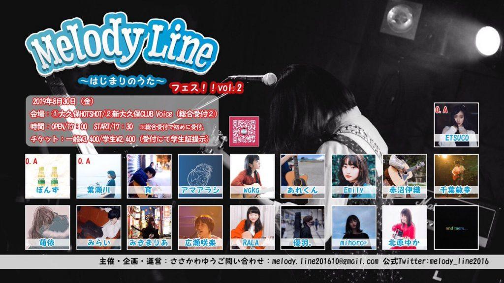 MelodyLine0830ポスター